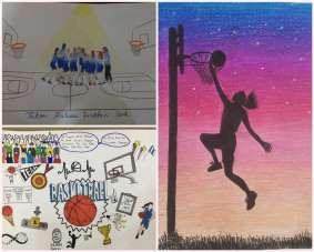 Yunusemreli sporcular resimle basketbolu anlattı
