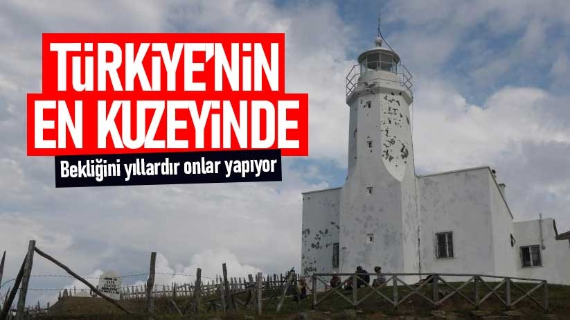 Türkiyenin en kuzeyindeki deniz feneri yaza hazırlanıyor