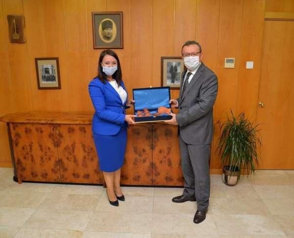 Başkan Tekin, Uludağ Üniversitesi Rektörü Kılavuz'u ziyaret etti