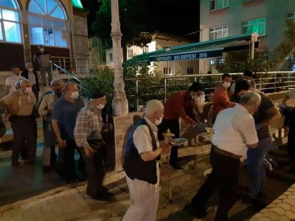 Bayırköy'de 15 Temmuz ve tüm şehitler için mevlit okutuldu