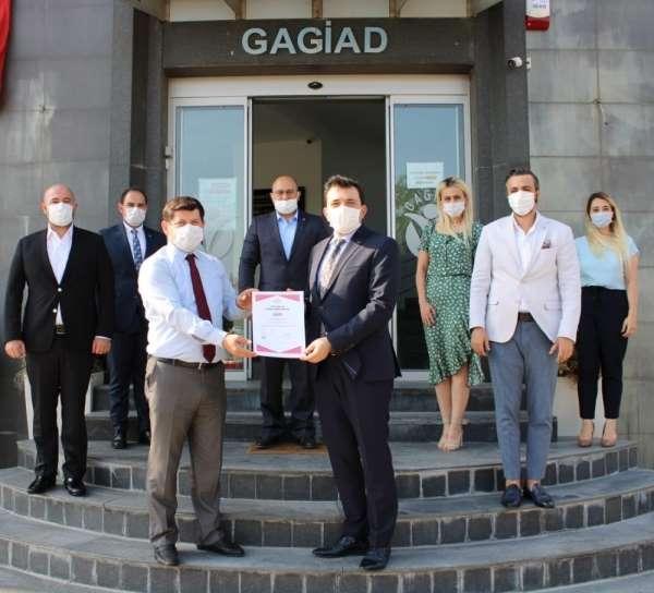 GAGİAD TSE Covid-19 Belgelesini alan ilk dernek oldu