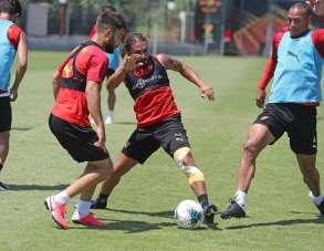 Göztepe'de Galatasaray maçı hazırlıkları sürüyor