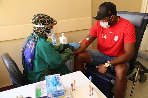 Haliliye Belediyespor sporcuları sağlık kontrolünden geçti