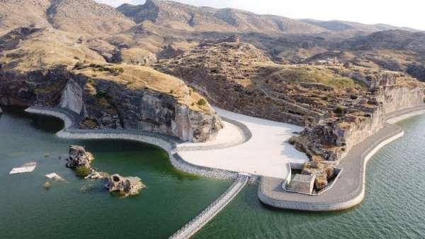 Hasankeyf'te tekne turları, kano ve su altı sporları yapılacak