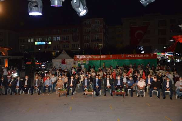 Havza'da 15 Temmuz Milli Birlik ve Demokrasi Günü