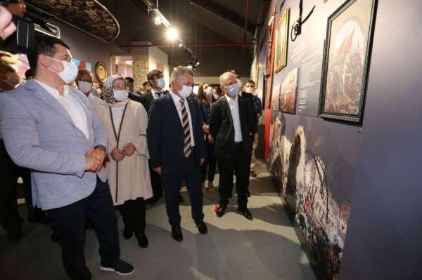 Kepez'in Anadolu Şehitler Müzesi kapılarını açtı