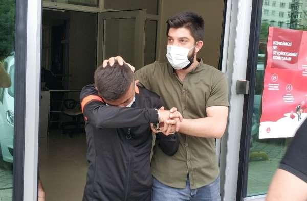 Polisi görünce çatıya bonzai atan genç tutuklandı