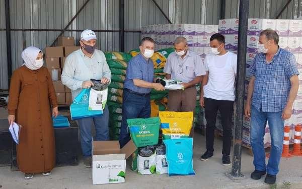 Selden zarar gören çiftçilere tohum desteği