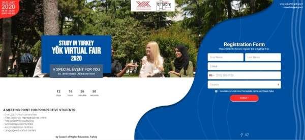 Trakya Üniversitesi, Study In Turkey Yök Sanal Fuarı 2020de uluslararası öğren