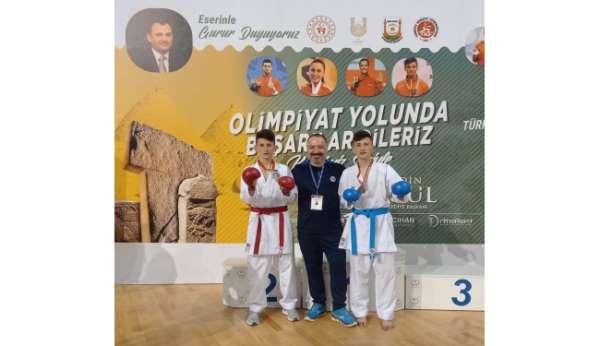 ÇESKten karatede iki Türkiye ikinciliği