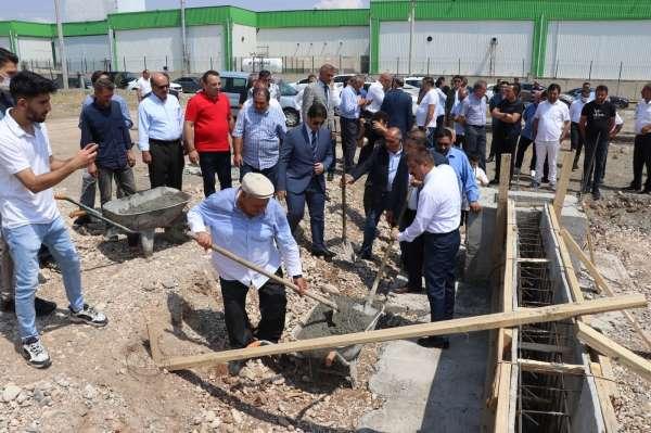Iğdırda 400 kişiye istihdam sağlayacak 2 milyon euroluk tesisin temelleri atıldı