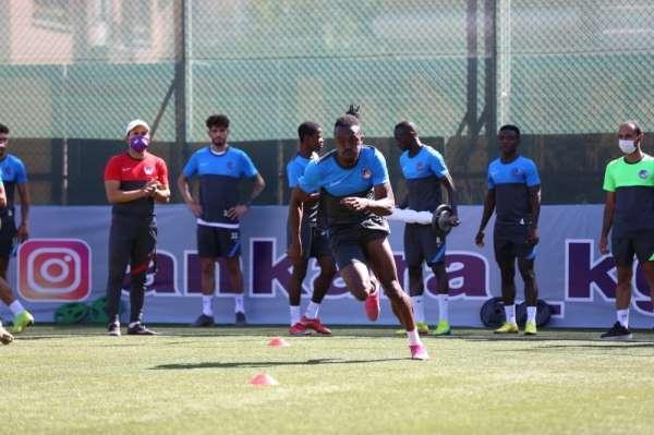 Ankara Keçiörengücü'nde, Ankaraspor maçının hazırlıları devam ediyor