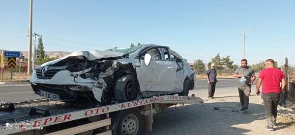 Mesudiye Belediye Başkanı kaza geçirdi