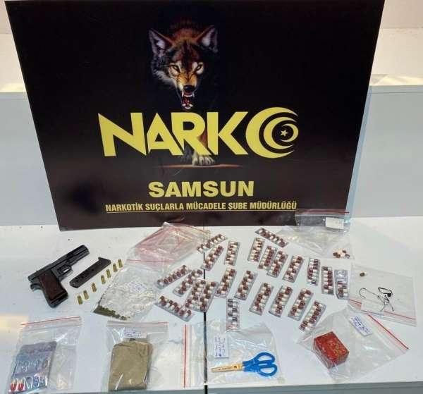 Samsun'da narkotik uygulaması: 14 gözaltı
