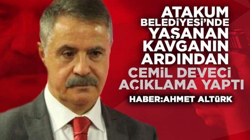 Cemil Deveci Atakum Belediyesi'nde çıkan kavga hakkında açıklama yaptı