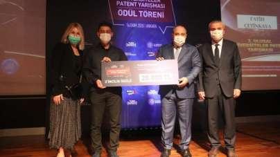 Akdeniz Üniversitesi Öğrencisine TÜRKPATENT'ten İkincilik Ödülü