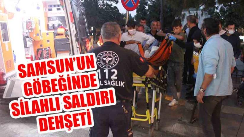 Samsun'da parkta silahlı saldırı dehşeti