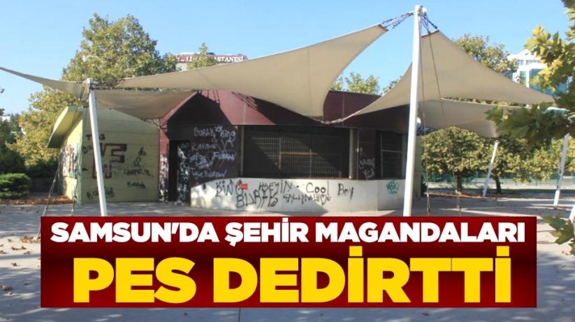 Samsun'da şehir magandaları pes dedirtti