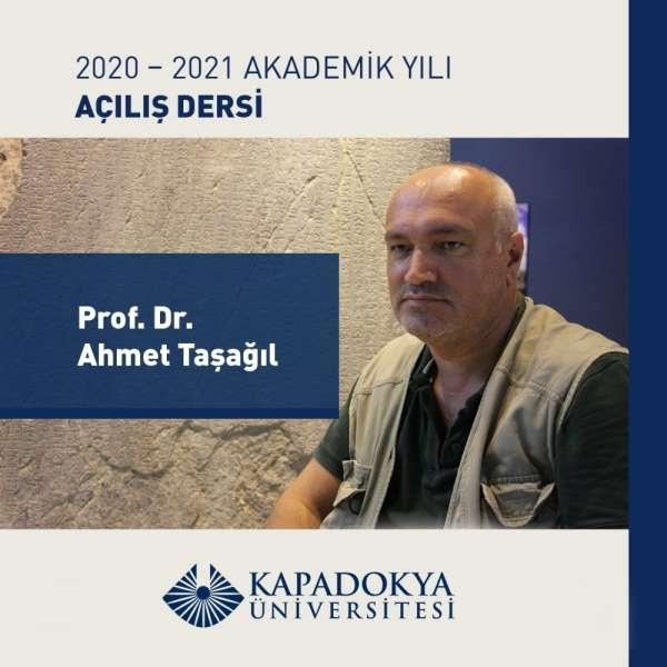 Kapadokya Üniversitesi'nde akademik yılı açılış dersi ile başladı