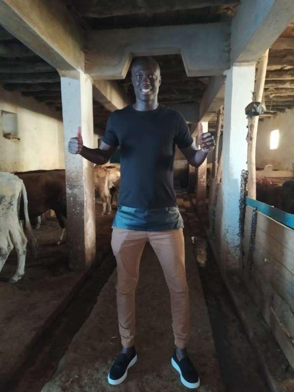 Mamadou Samassa, bir gününü köyde geçirerek gönülleri fethetti