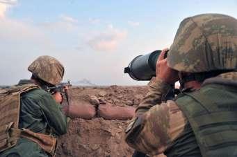 MSB: 'Barış Pınarı bölgesine taciz ateşi açan 4 PKK/YPG'li terörist etkisiz hale