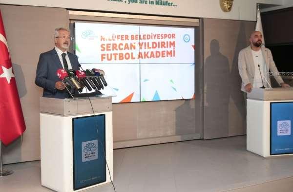 'Nilüfer Belediyespor Sercan Yıldırım Futbol Akademi' açılıyor