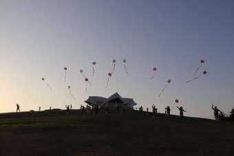 Uçurtmalar Karabağ için havalandı: Gökyüzü Türkiye ve Azerbaycan bayrakları ile