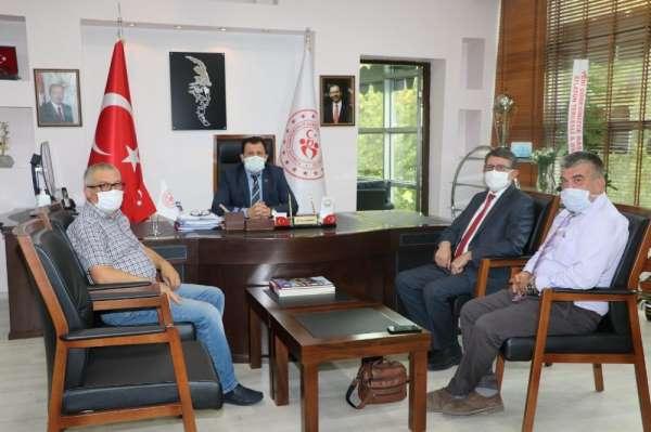 Voleybol İl Temsilciliği'nden İl Müdürü Ali İhsan Kabakcı'ya ziyaret