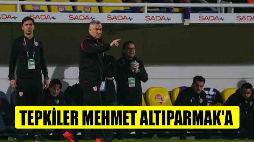Tepkiler Mehmet Altıparmaka
