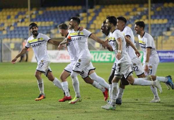 TFF 1. Lig: Menemenspor: 3 - Yılport Samsunspor: 2