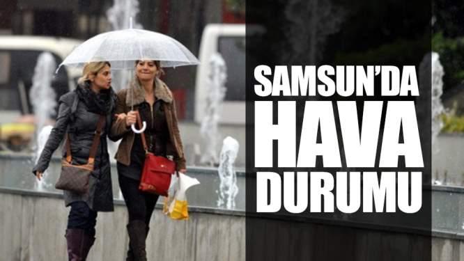 Samsun'da Hava Durumu (16.11.2018) Samsun Haber)