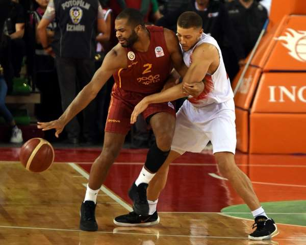 ING Basketbol Süper Ligi: Pınar Karşıyaka: 84 - Galatasaray Doğa Sigorta: 55