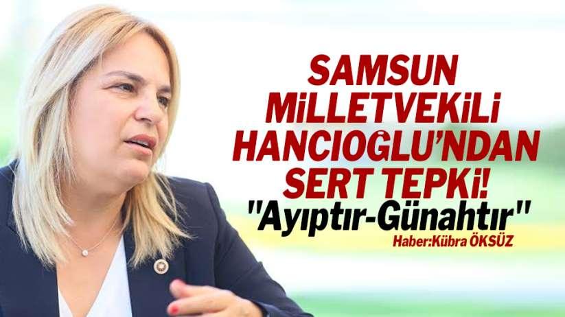 Neslihan Hancıoğlu'ndan Samsun Ladik'teki afişe sert tepki! ' Ayıptır günahtır'