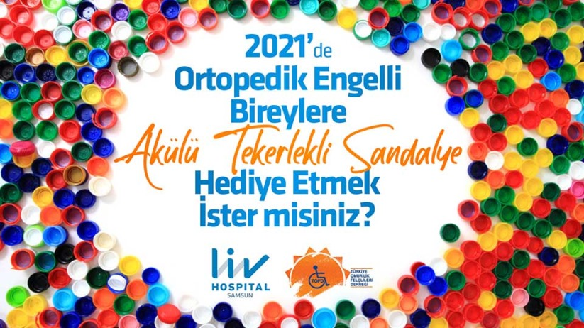 Liv Hospital Samsun Engelliler için akülü tekerlekli sandalye kampanyası başlattı
