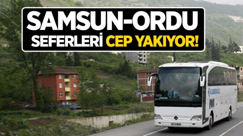Samsun-Ordu seferleri cep yakıyor!