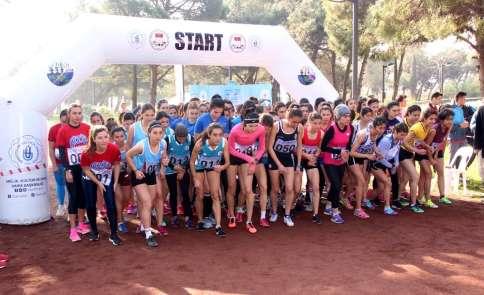 Üniversitelerarası Türkiye Kros Şampiyonası düzenlendi