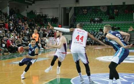 Tahincioğlu Basketbol Süper Ligi: Bahçeşehir Koleji: 78 - Türk Telekom: 84