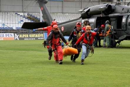 Paraşüt kazasında ölen pilot ve yabancı yolcunun cenazeleri 21 saat sonra kurtar