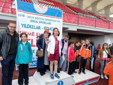 Hataylı işitme engelliler Türkiye şampiyonu oldu