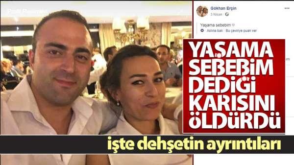 Samsun'da koca dehşeti yaşama sebebim dediği karısını öldürdü