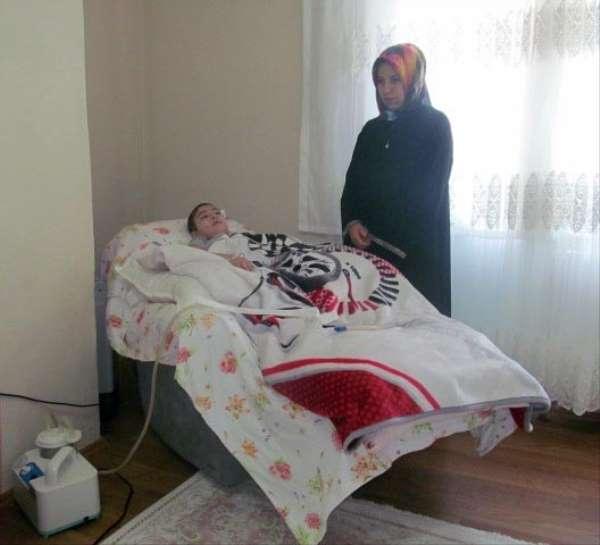 Trafik kazasında yatalak kalan Muhammet Yusuf, 156 bin TL'lik tedavisi için yard