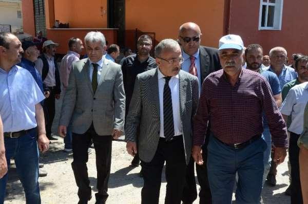 Başkan Hilmi Güler: 'Heyelan sonucu vatandaşlarımız hiçbir şekilde mağdur olmaya