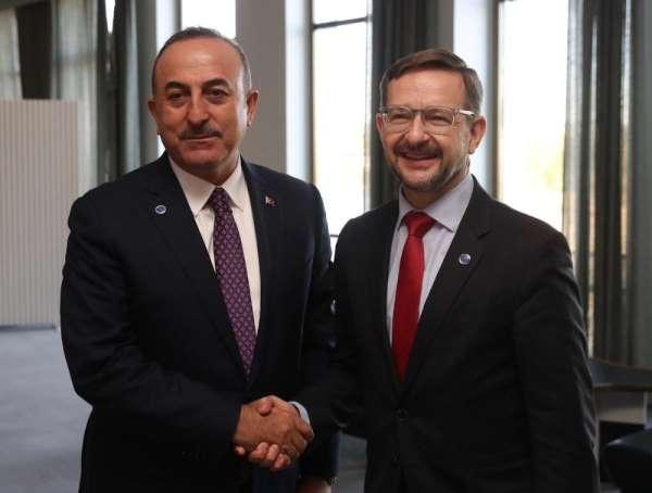 Bakan Çavuşoğlu, Greminger ile görüştü