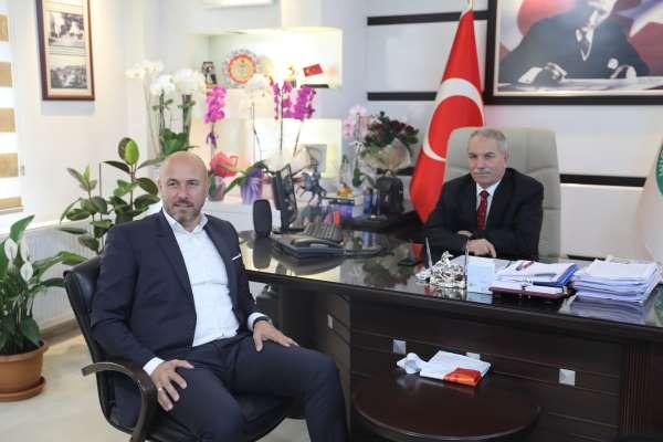 Tekkeköy Belediye Başkanı Hasan Togar, Demirtaş'a başarılar diledi