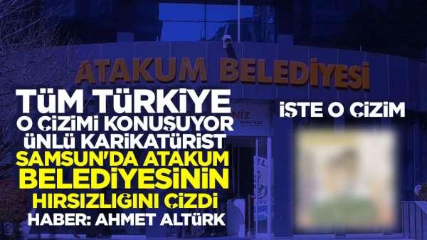 Sefer Selvi Samsun'daki hırsızlık iddialarını çizdi
