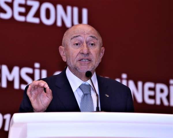 TFF Başkanı Nihat Özdemir'in yeni sezon mesajı