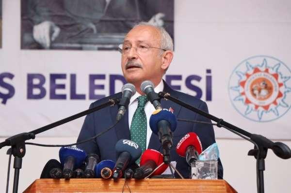 CHP Genel Başkanı Kılıçdaroğlu: 'Bugün dünyanın savaş alanlarının açlık ve kıtlı