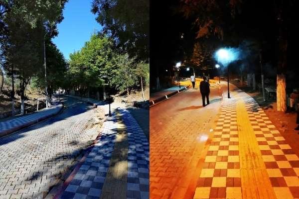 Emet'te Kaplıcalar Caddesi yeni yüzüyle hizmette