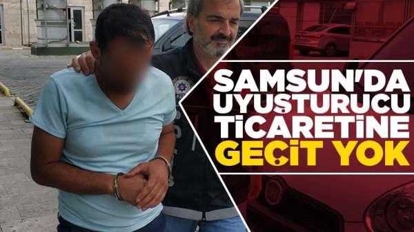 Samsun'da uyuşturucu ticaretine geçit yok