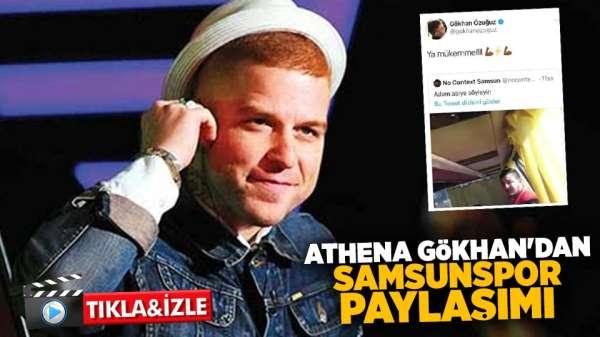 Athena Gökhan'dan Samsunspor Paylaşımı